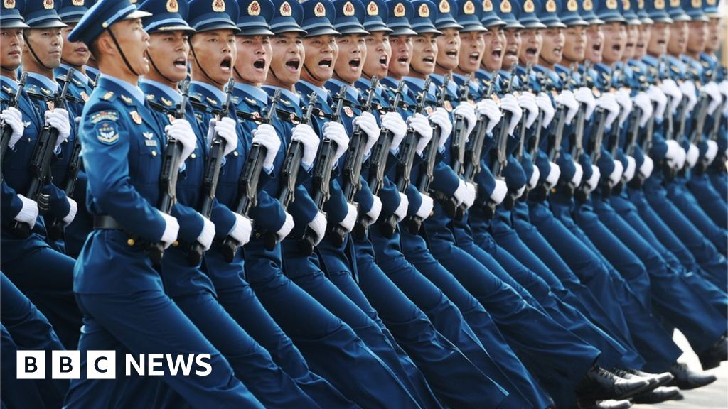 In pictures: China shows off military might at 70th anniversary parade