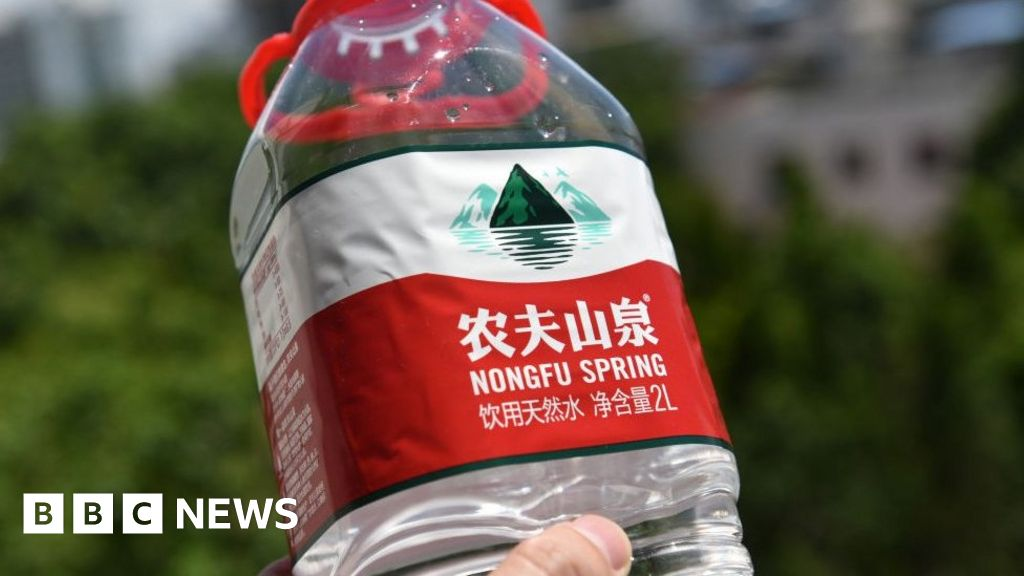 China's new richest person is a bottled water tycoon