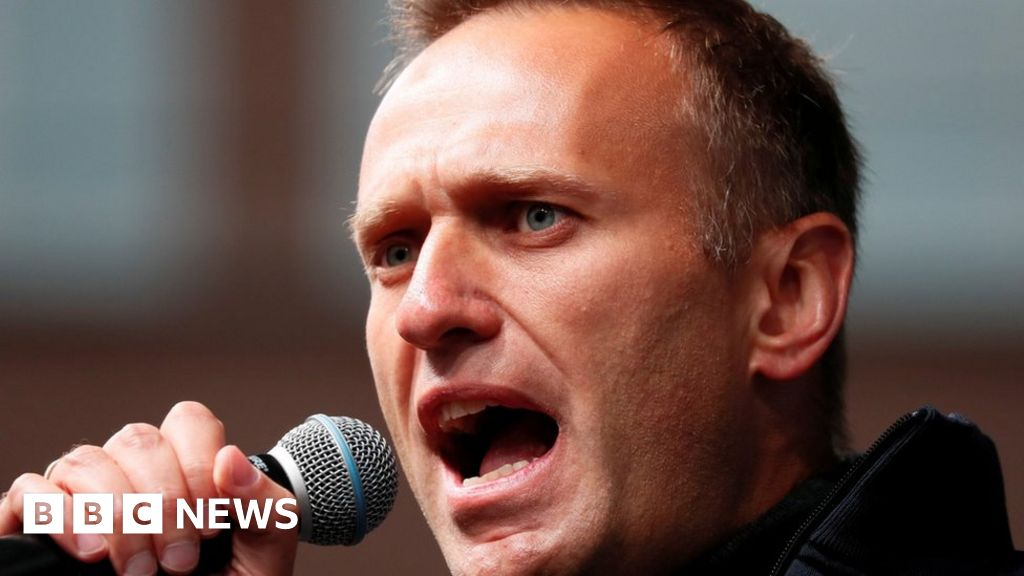 """Navalny: jailed Putin critic """"has a cough and temperature"""""""