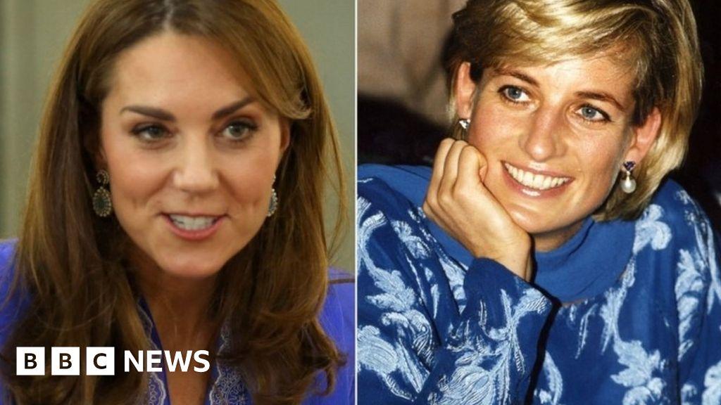 Pakistan royal visit: Kate s outfits draw Diana comparisons