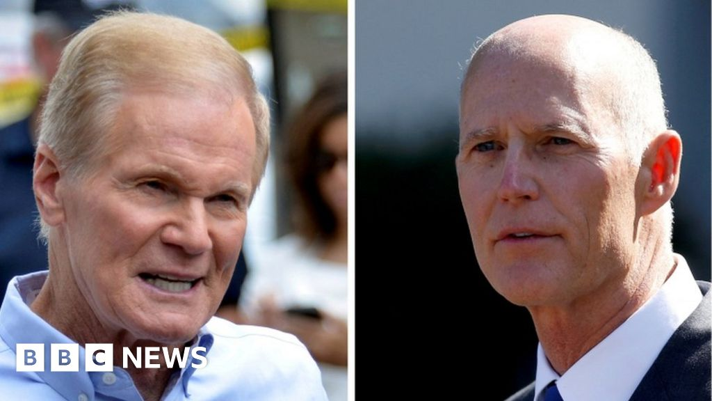 Florida senate race recount triggered thumbnail