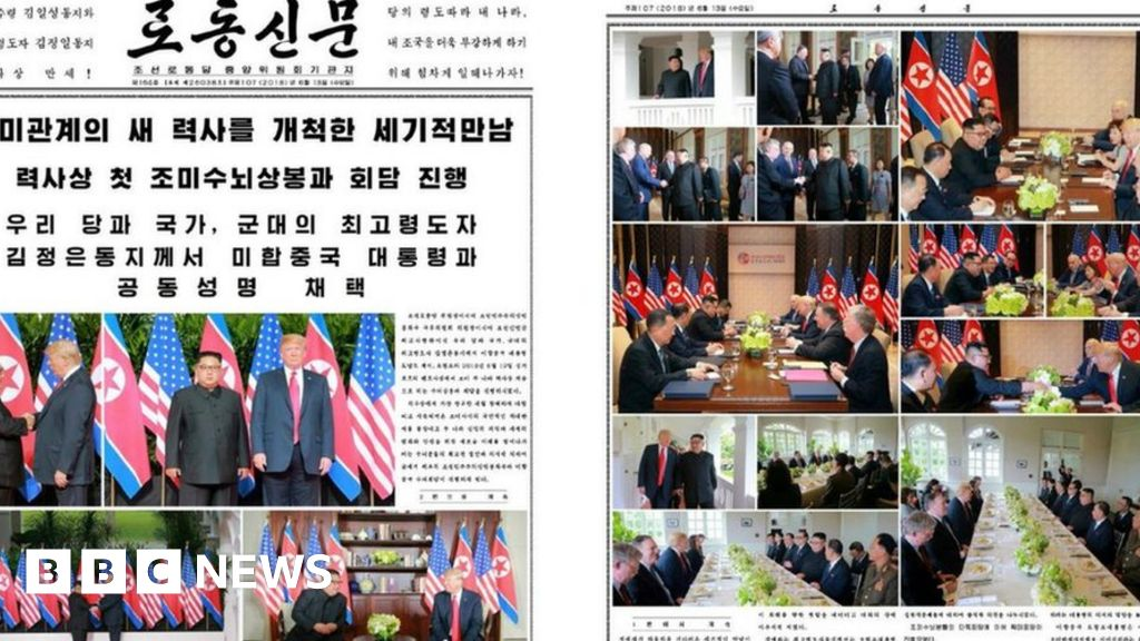 Trump Kim summit: North Korean media celebrates meeting