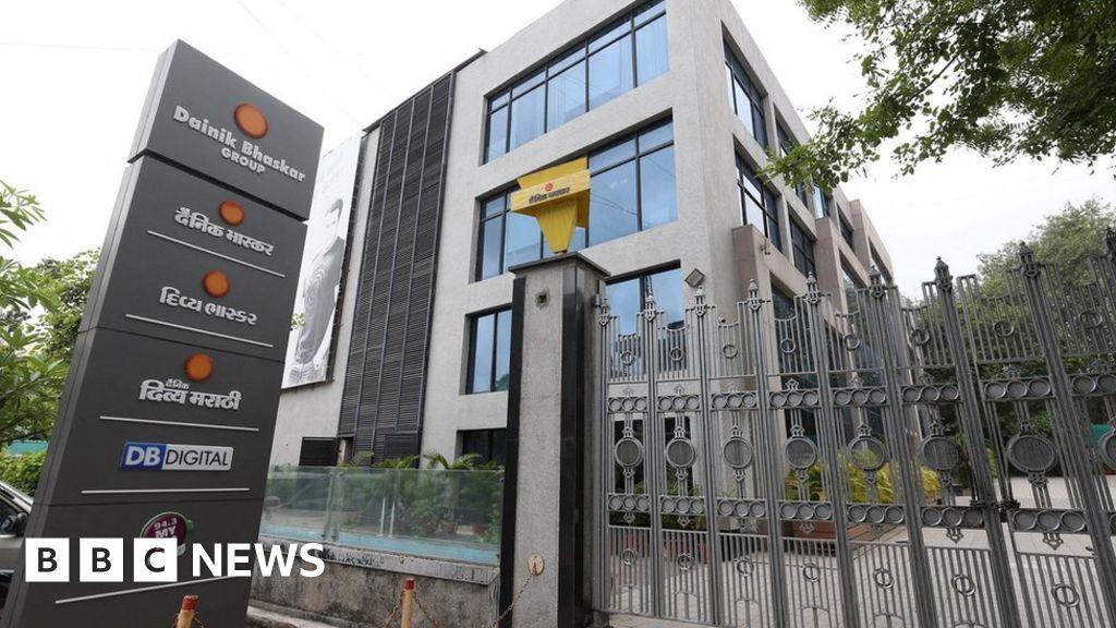 Indian tax authorities raid media outlets Bharat Samachar and Dainik Bhaskar