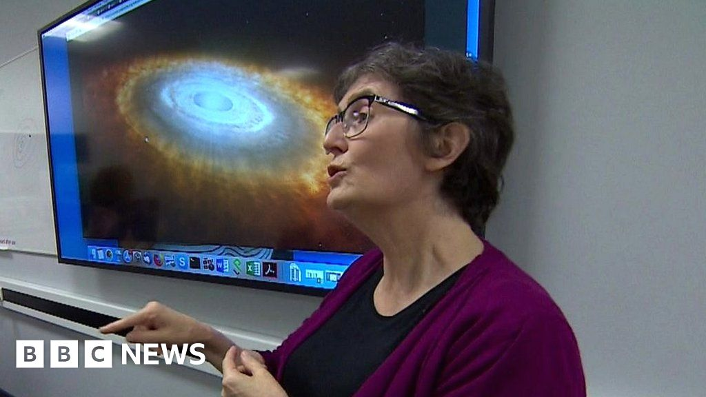 Inventing sign language for space - BBC News