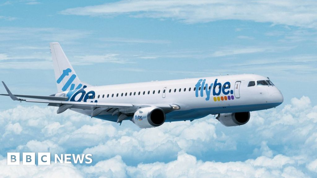 new concept 4e91e dca99 Flybe ends Jersey flights to East Midlands and Leeds - BBC News