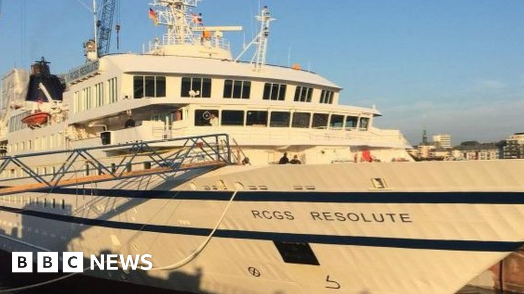 Cruise ship collision sinks Venezuela navy vessel