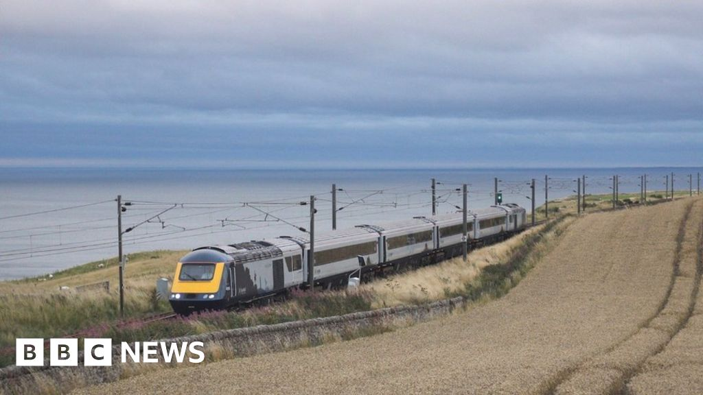 First upgraded InterCity train arrives in Scotland