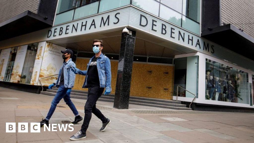 Coronavirus: Debenhams to close five stores after lockdown ends thumbnail