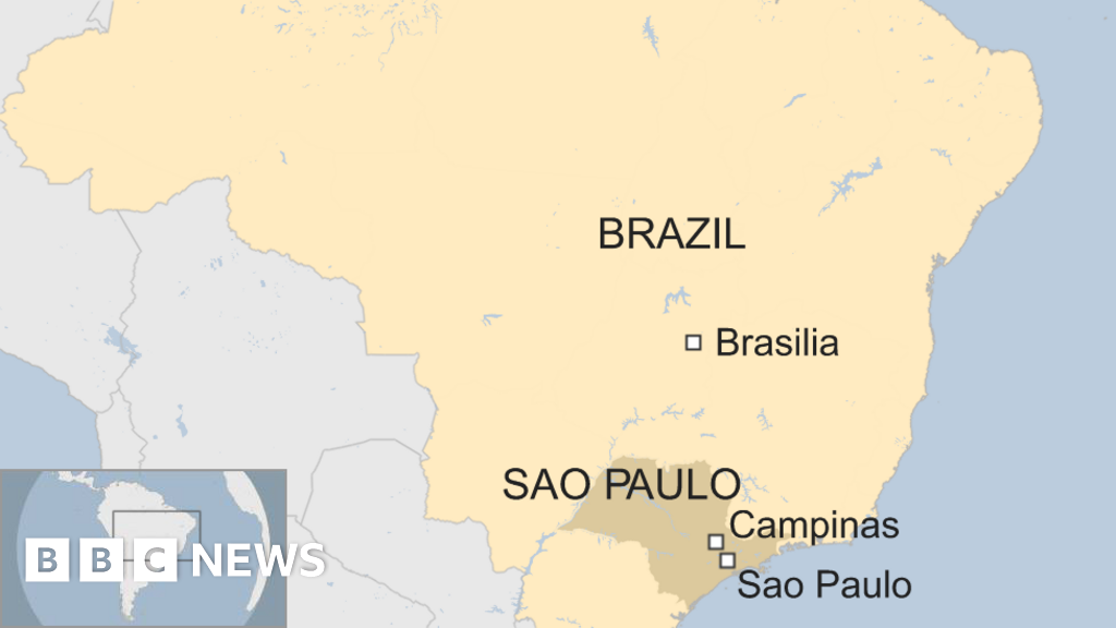Brazil shooting: Four dead as gunman opens fire in cathedral