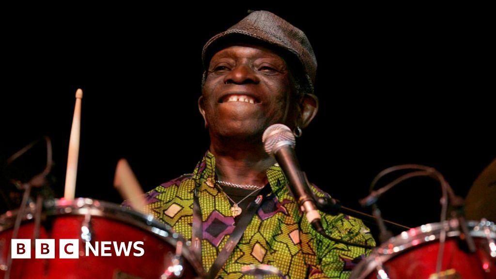 BBC News | Tony Allen: 'World's greatest drummer' and afrobeat pioneer dies