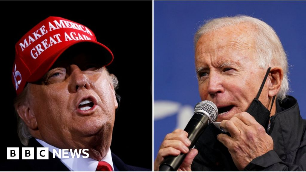 US Election 2020: Biden and Trump hit swing states