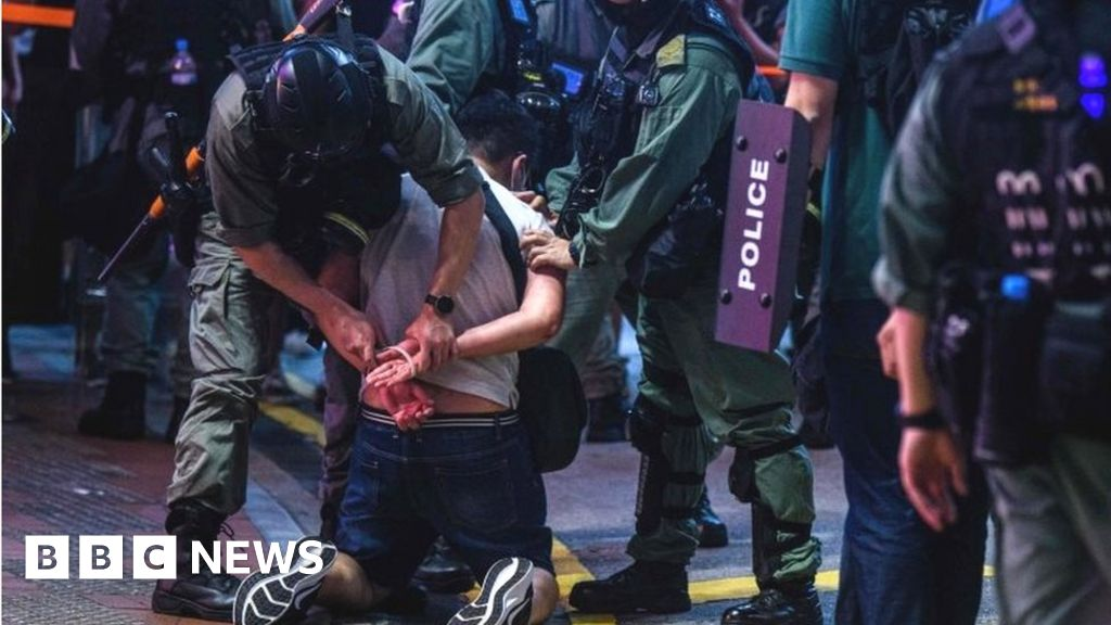 Anger as China approves Hong Kong security law