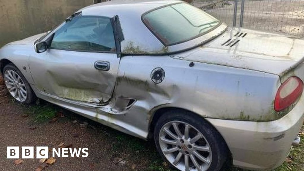 Corrie Mckeague's brother bids to restore missing airman's sports car