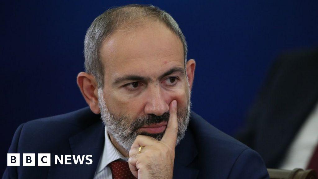 Armenia PM Nikol Pashinyan denounces 'attempted military coup'