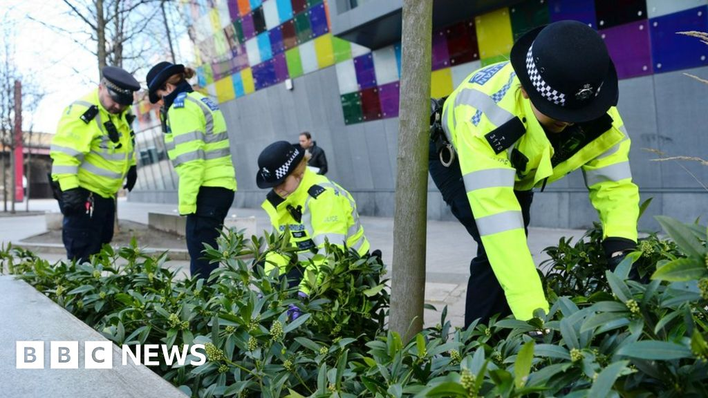 Knife crime in England and Wales rising to a record high, ONS figures show