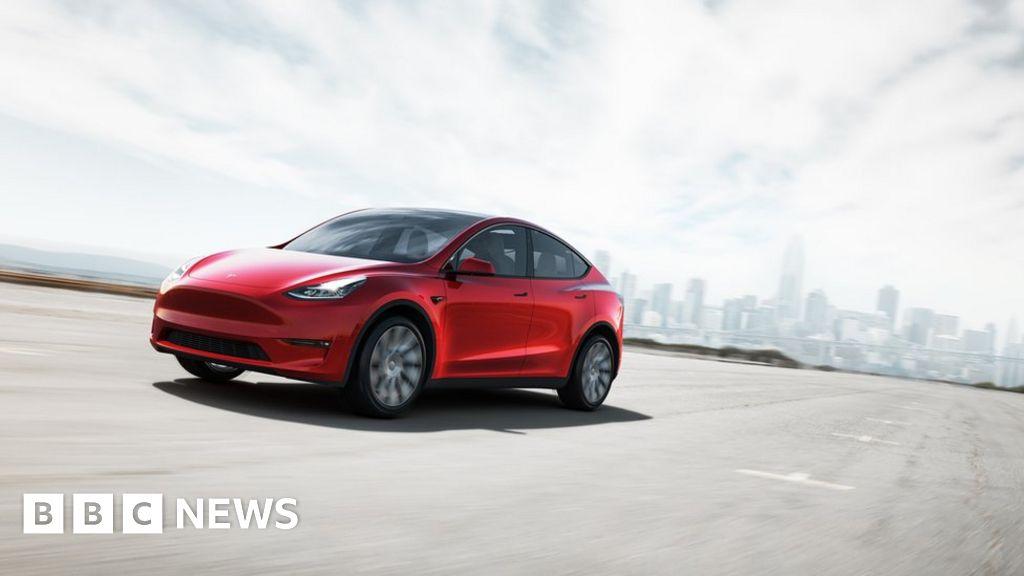 bbc.co.uk - Tesla briefly hits a $1 trillion valuation - BBC News