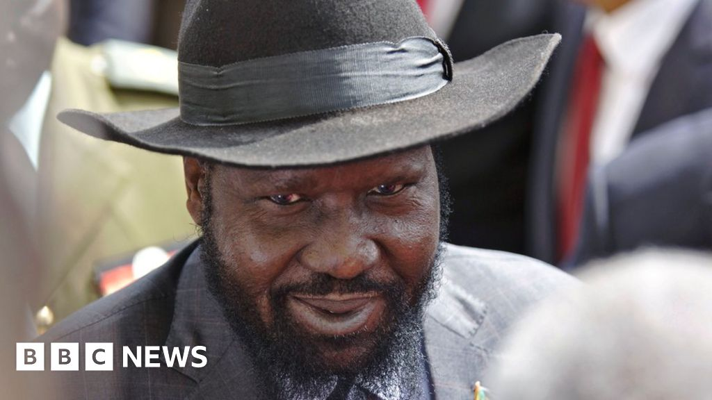 Salva Kiir: South Sudan's president in a cowboy hat - BBC News