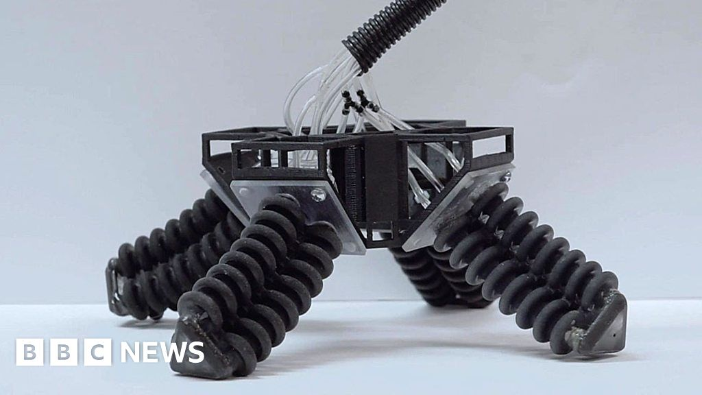 graphic regarding 3d Printable Robot identify The delicate 3D published robotic for a rescue