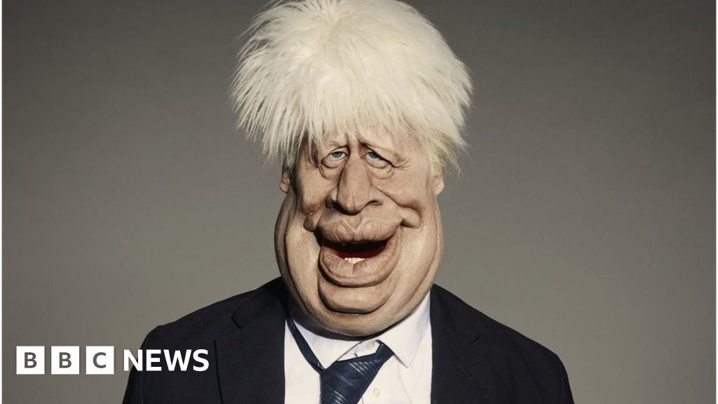 Boris Johnson: Spitting-Image-puppet presented, before the relaunch