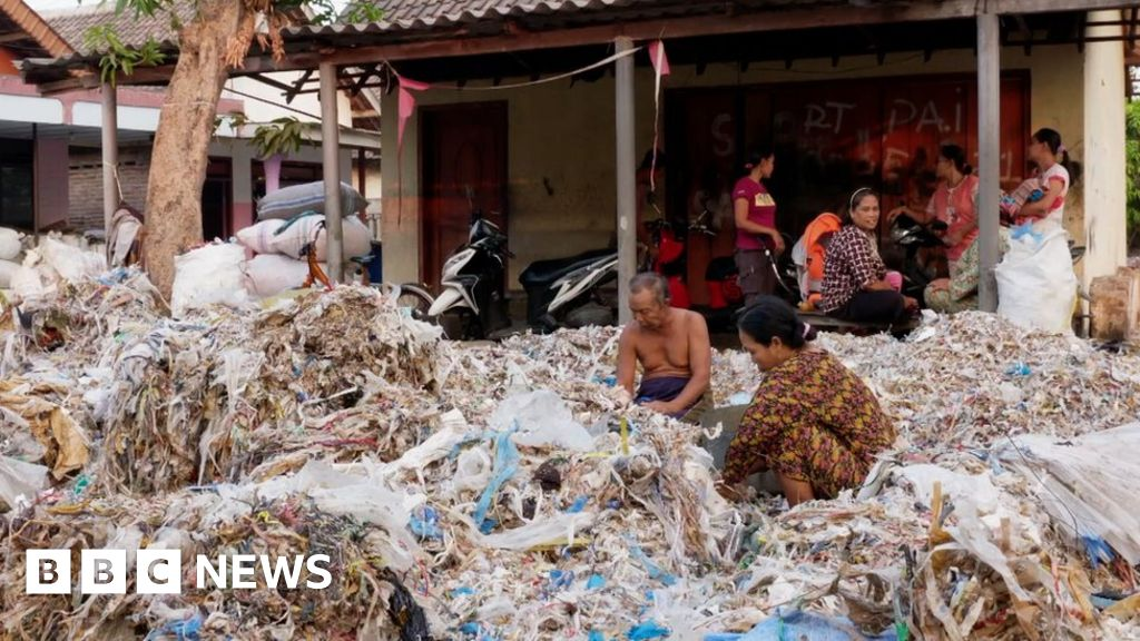 Western plastics 'poisoning Indonesian food chain'