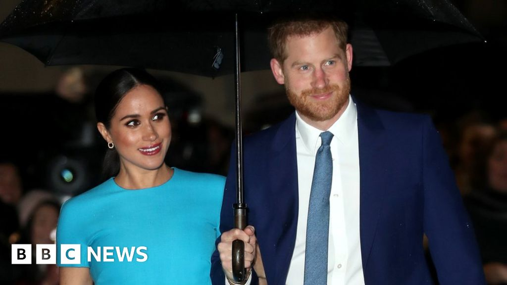 Harry and Meghan in London for services awards ceremony thumbnail