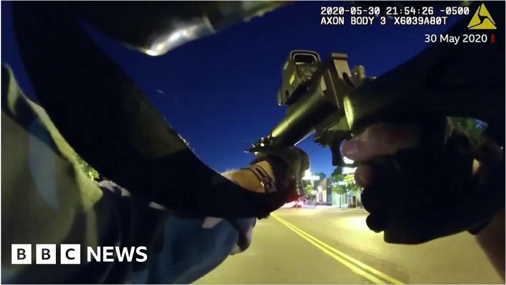 , Minneapolis police 'hunted' protesters with rubber bullets, The World Live Breaking News Coverage & Updates IN ENGLISH