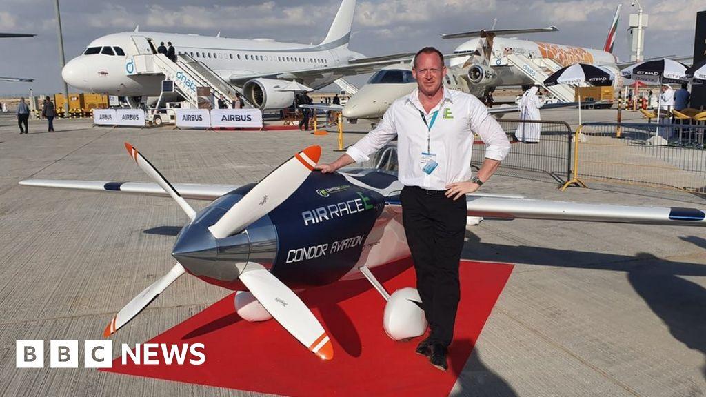 Dubai Air Show: The man putting a jolt into electric air racing