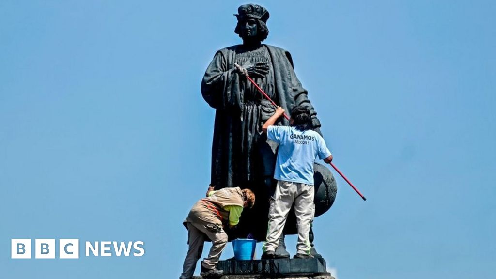 , Mexico City to swap Columbus statue for one of indigenous woman, The World Live Breaking News Coverage & Updates IN ENGLISH
