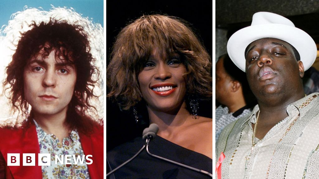 T. Rex, Whitney and Notorious B. I. G. to join the Rock & Roll Hall of Fame