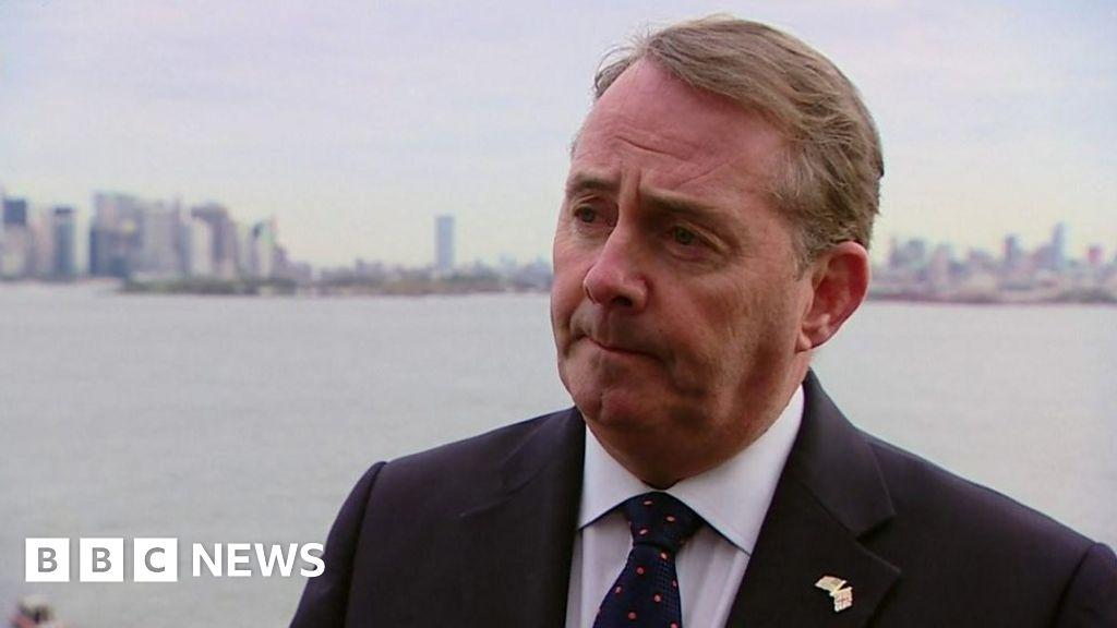 Trade documents stolen from Liam Fox email