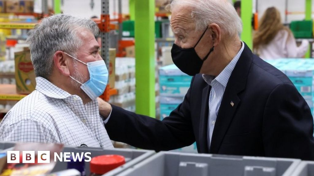 Texas weather: Biden visits state amid recovery from deadly cold snap