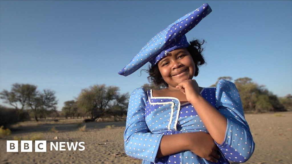 Why the Herero people s special dress is worn with pride in Namibia
