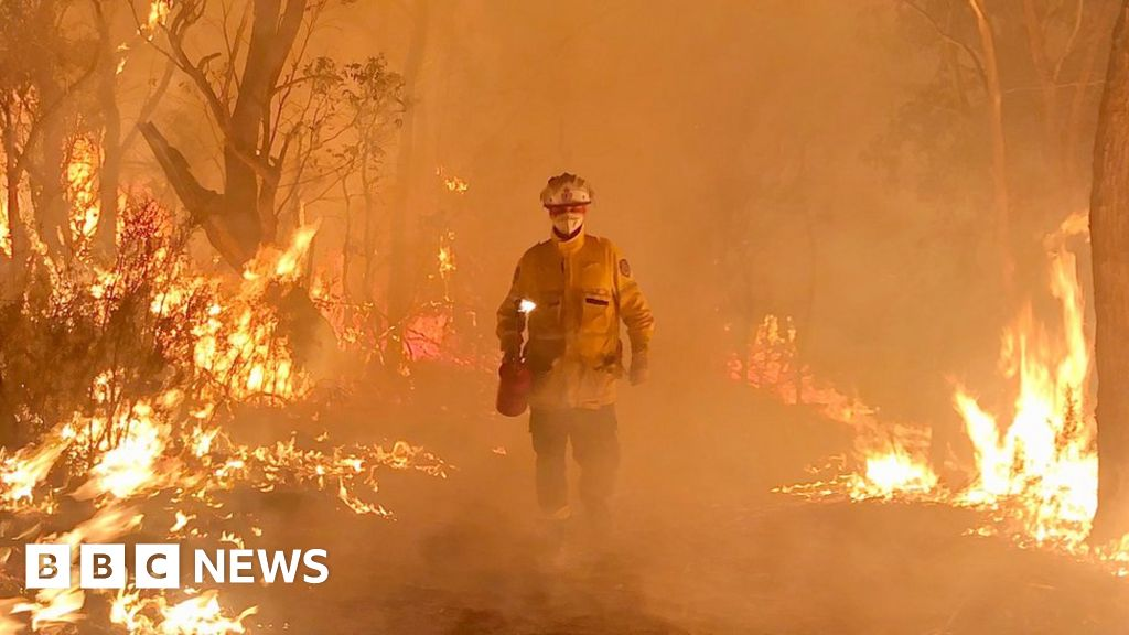 Australia fires: The thousands of volunteers fighting the flames