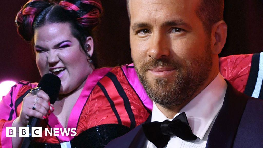 What's Ryan Reynolds got against Eurovision? - BBC News