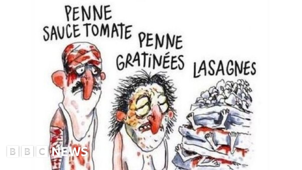 Charlie Hebdo Italy Earthquake Cartoon Sparks Anger Bbc News