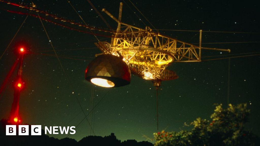 99544125 r1600314 subreflector of the arecibo radio telescope spl.
