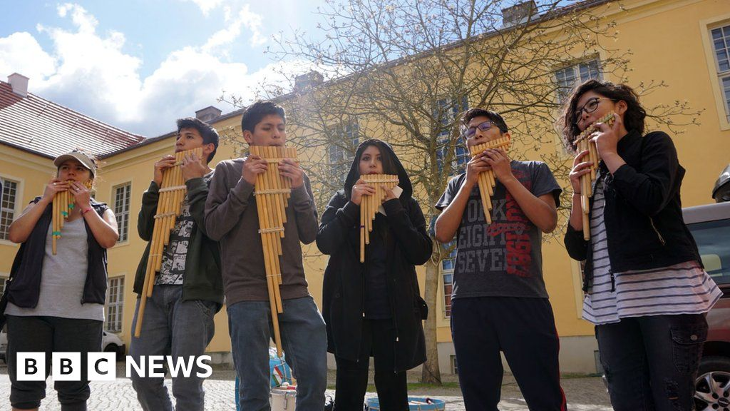Coronavirus: The Bolivian orchestra stranded in a German castle