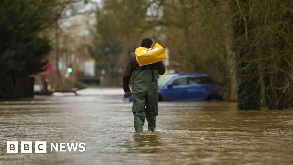 Parts of UK could see a month's rain in 24 hours
