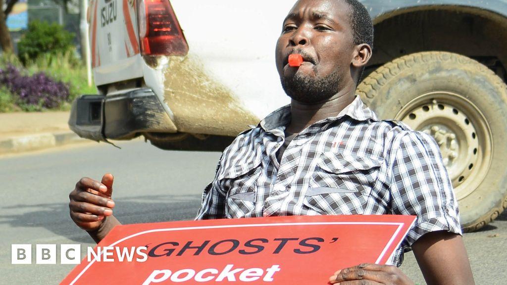 Letter from Africa: Kenyans protest over growing debt