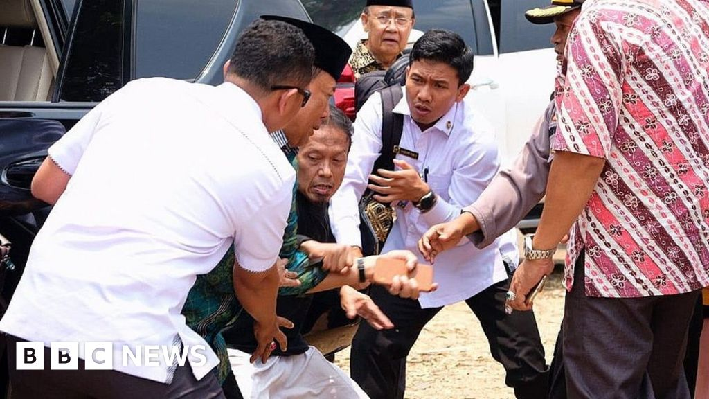 'IS radical' stabs Indonesian security minister