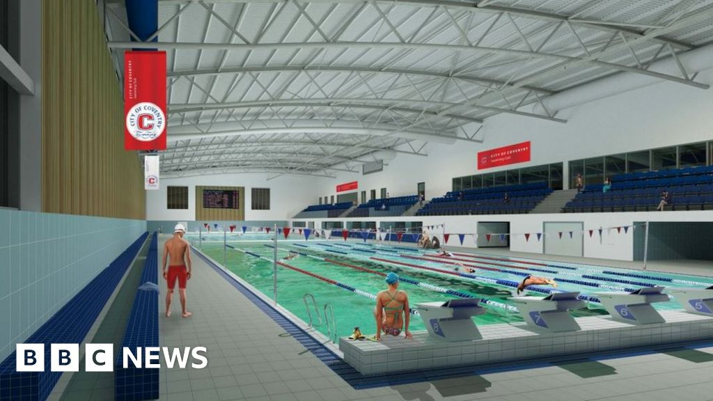 Plans submitted for olympic sized pool in coventry bbc news - How many olympic sized swimming pools in uk ...