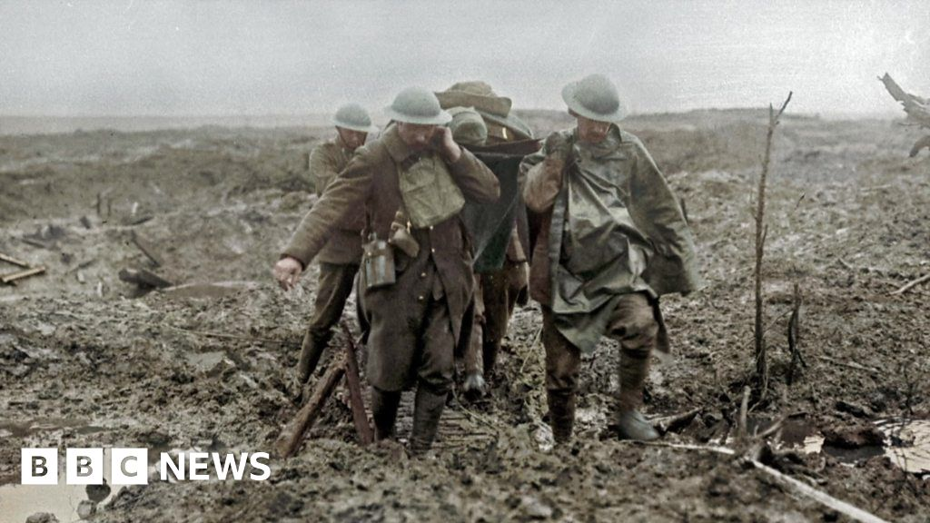 'I died in hell, they called it Passchendaele'
