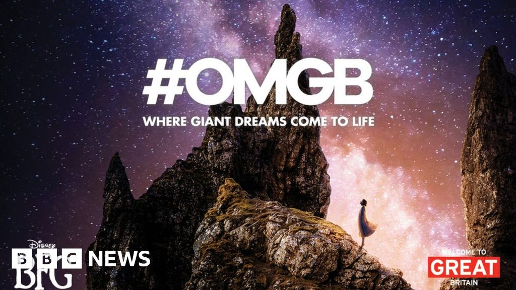 The Bfg Film Could Boost Visits To Skye Bbc News