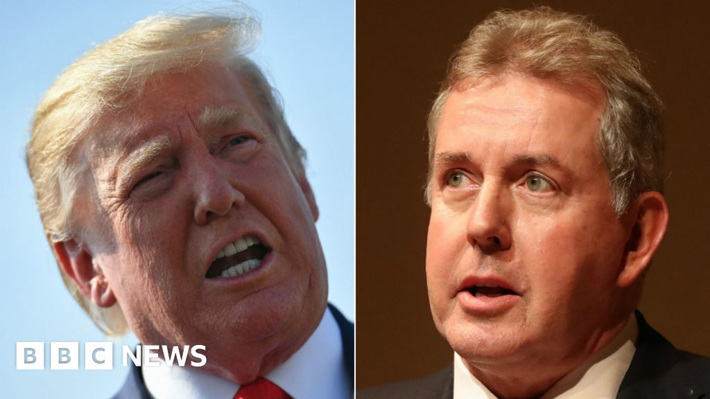 Trump attack ambassador 'has PM's full support' thumbnail