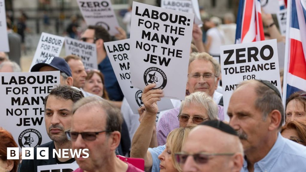 Labour: 673 anti-Semitism complaints in 10 months