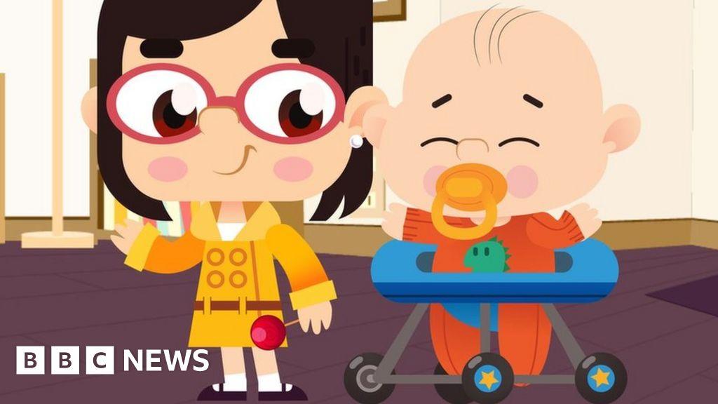 Bbc Interview Kids Cartoon Creator Thrilled At Response Bbc News
