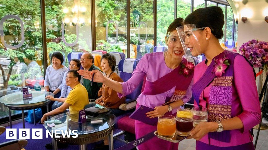 Thai Airways: Holy flights, dough fritters and home-made bags