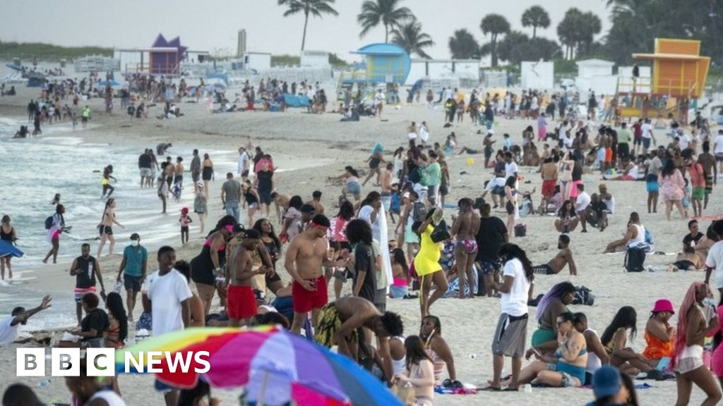 """Covid-19: Miami Beach has set an emergency cover due to spring """"chaos"""""""
