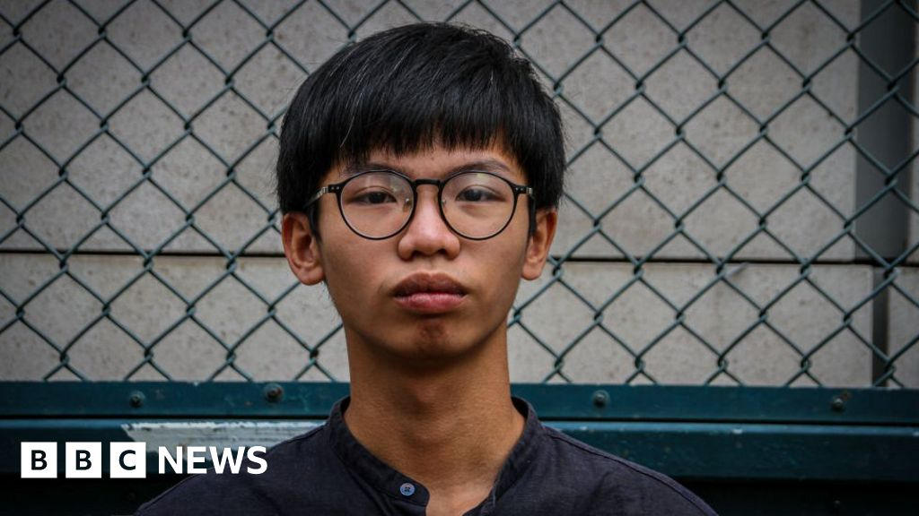 Tony Chung: Hong Kong activist detained near US consulate charged