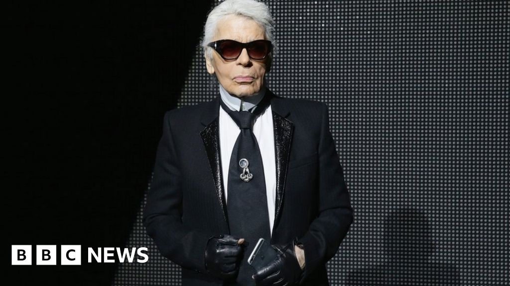 The Controversial Genius Of Karl Lagerfeld Bbc News